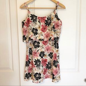 Abercrombie & Fitch layered Floral Dress Small